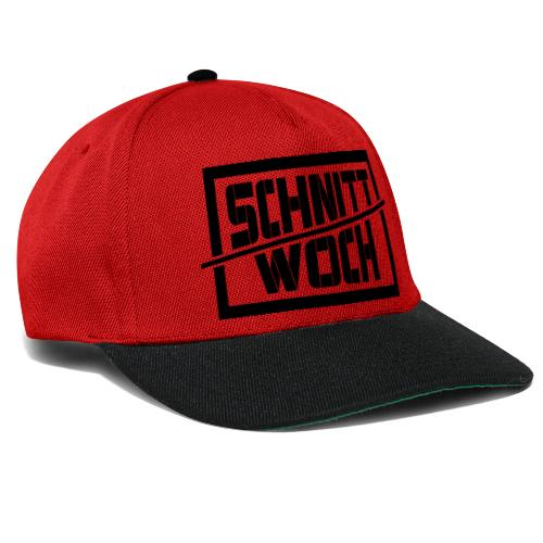 Schnittwoch Arbeitsplatz - Snapback Cap