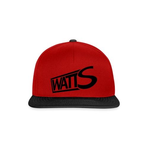 watts logo - Snapback cap