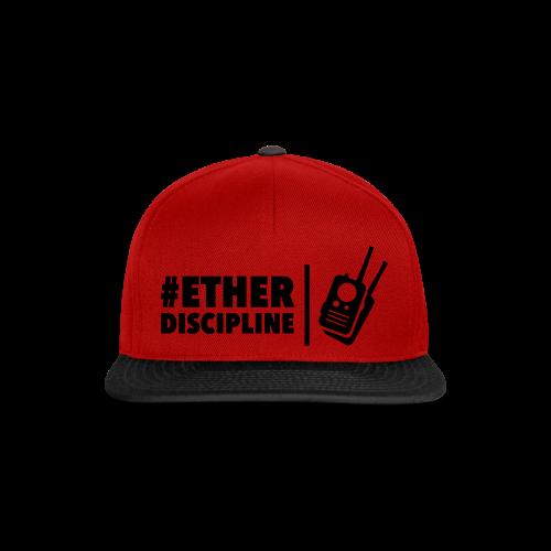 ETHERDISCIPLINE - Snapback cap