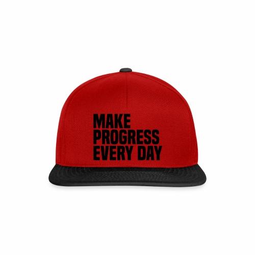 MAKE PROGRESS EVERY DAY - Snapback Cap