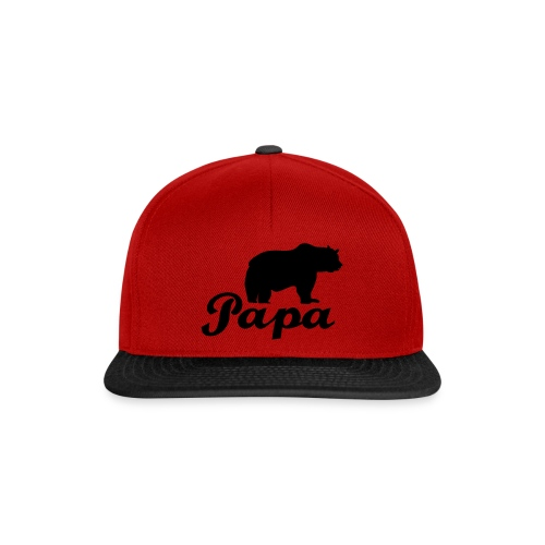 papa beer - Snapback cap