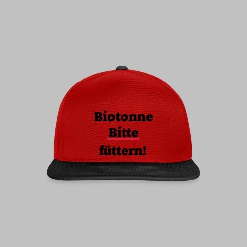 Biotonne - Bitte füttern! - Snapback Cap