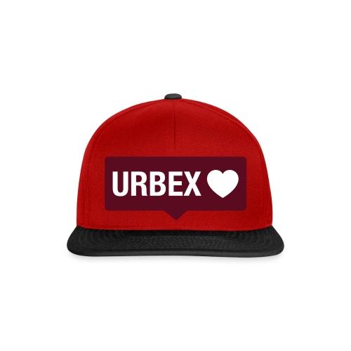 URBEX-Herz-Insta-Bubble - Snapback Cap