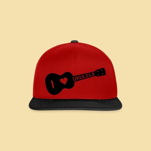 I love UKULELE - Snapback Cap