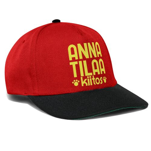 Anna Tilaa Kiitos - Snapback Cap