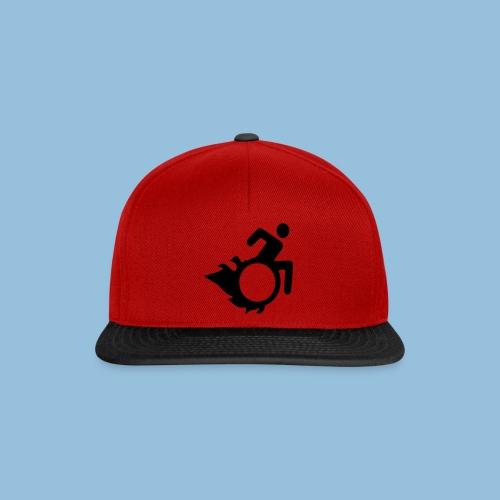 Roller met vlammen 004 - Snapback cap