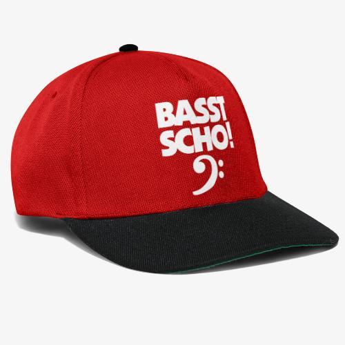 BASST SCHO! Bass Design für Bassisten - Snapback Cap