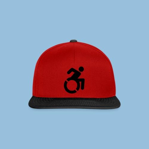 New WheelChair Logo 001 - Snapback cap