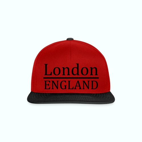 London England - Snapback Cap