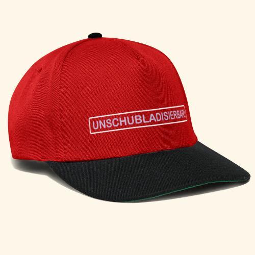 UNSCHUBLADISIERBAR! - Snapback Cap