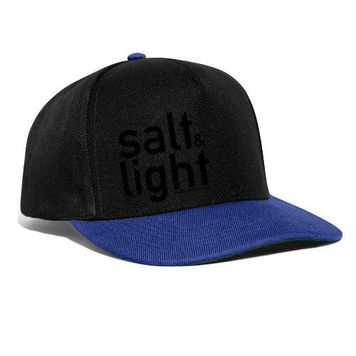 Salt & Light - Matthew 5: 13-14 - Snapback Cap