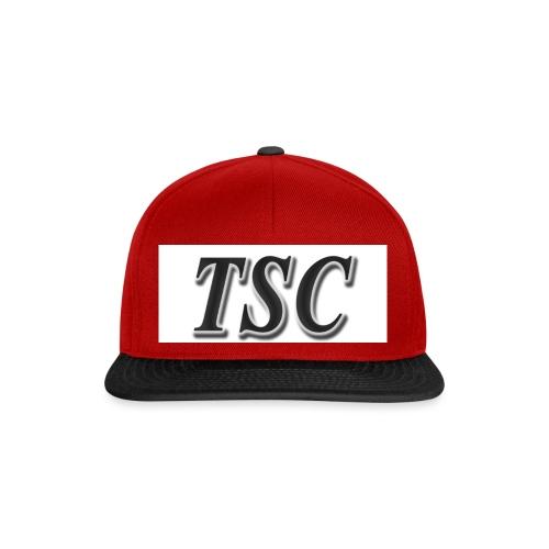 TSC Black Text - Snapback Cap