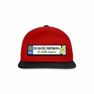 WESTMEATH, IRELAND: licence plate tag style decal - Snapback Cap