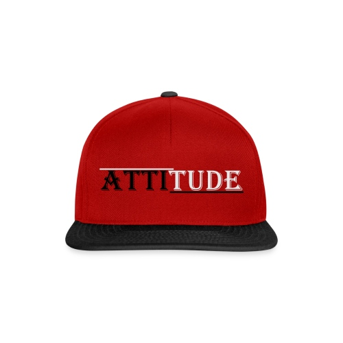 attitude - Snapback Cap
