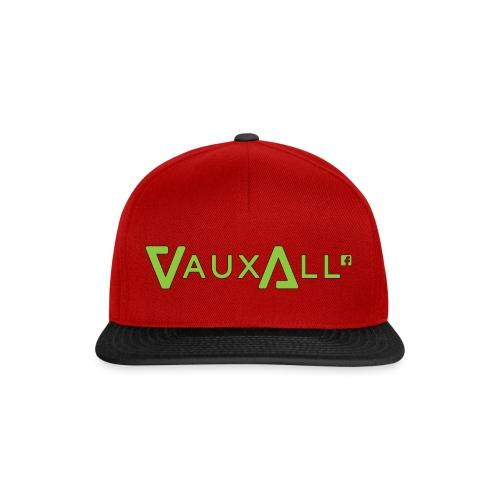VauxAll Logo | Green | Original - Snapback Cap