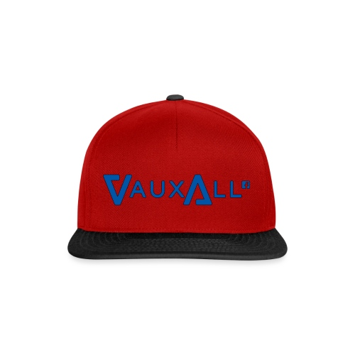 VauxAll Logo | Blue | Original - Snapback Cap