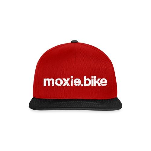 moxie.bike contour lines - Snapback Cap