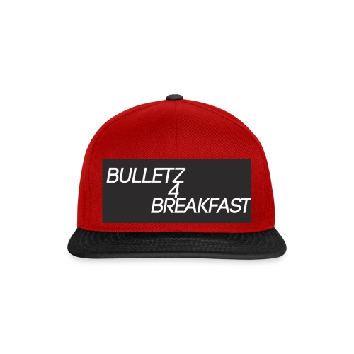 bulletz4breakfast_t-shirt - Snapback Cap