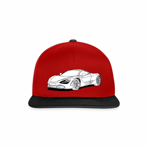 720s Coupe White - Snapback Cap