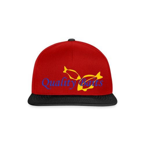 Quality Baits Logo - Snapback Cap