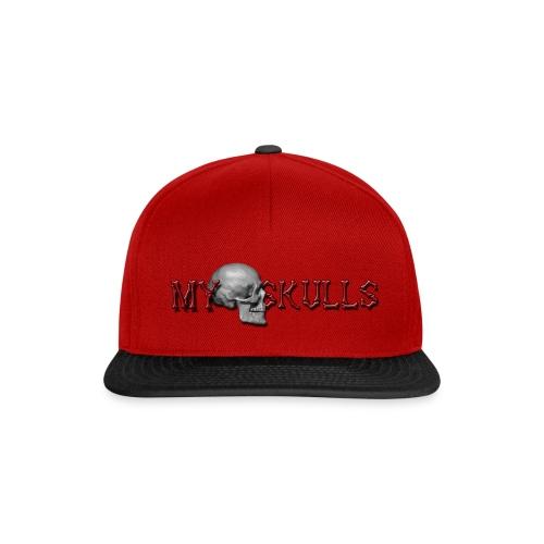 myskulls vorlage gross - Snapback Cap