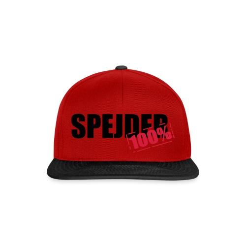 100procent spejder stempel - Snapback Cap