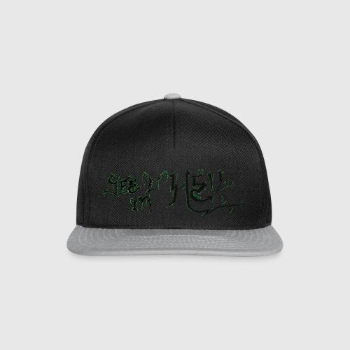 see u in hell - Snapback cap