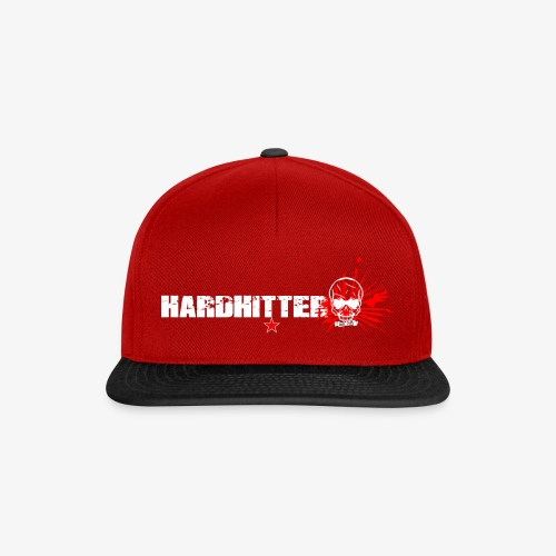 Hardhitter Logo für dunklen Hintergrund - Snapback Cap