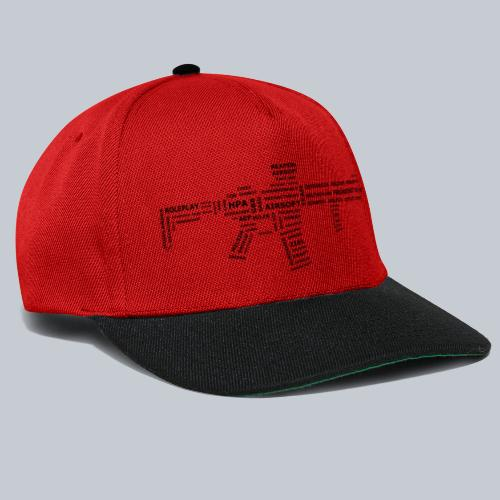 TXT RIFLE (BLACK) - REAPERs Airsoft - Snapback Cap