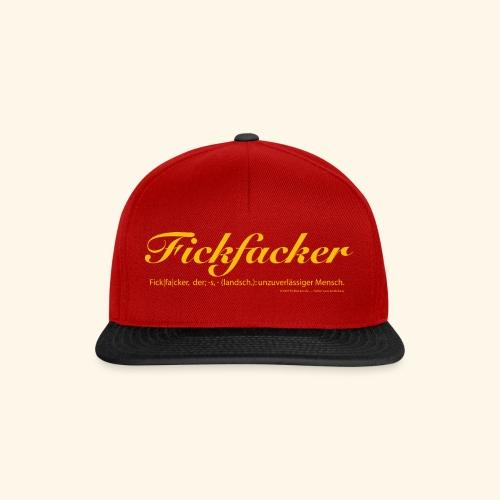 Fickfacker - Snapback Cap