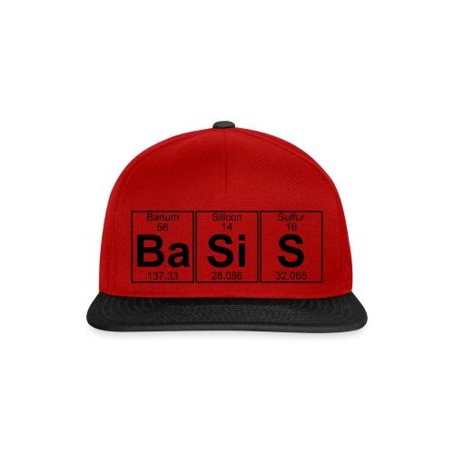 Ba-Si-S (basis) - Full - Snapback Cap