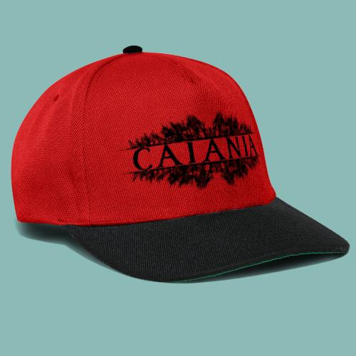 Caiania-logo musta - Snapback Cap