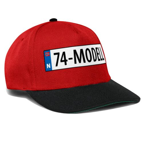 74-modell kjennemerke - Snapback-caps