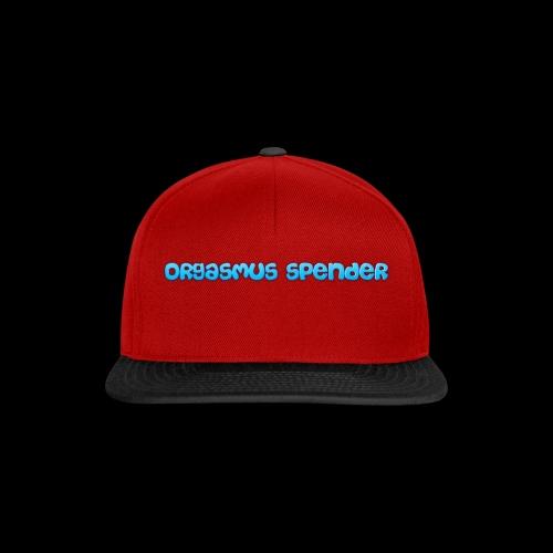 orgasmus spender - Snapback Cap