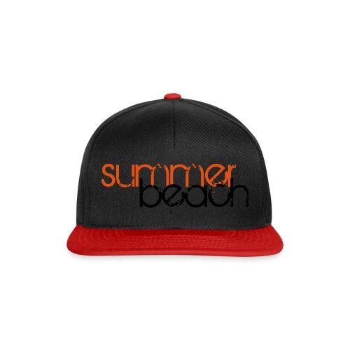 summer beach pfade 1 - Snapback Cap