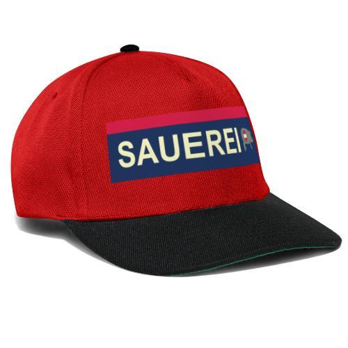 Sauerei Premium Bekleidung - Snapback Cap