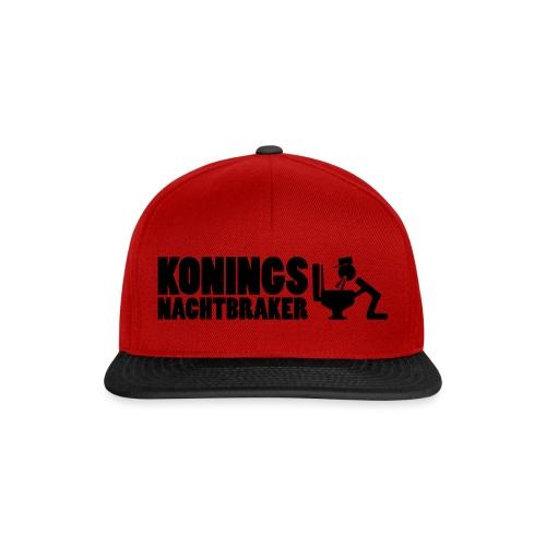 Koningsnachtbraker - Snapback cap