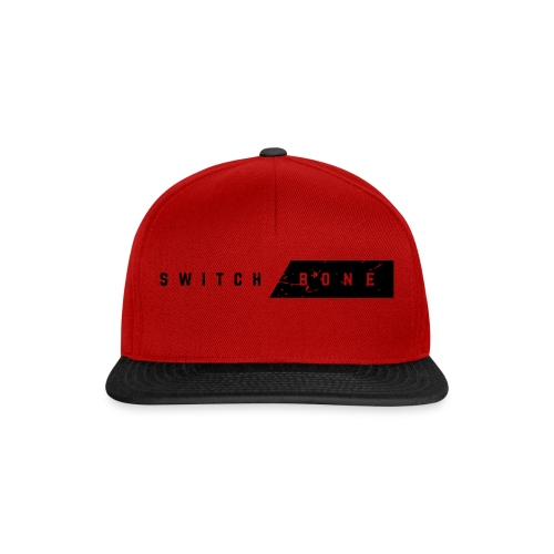 Switchbone_black - Snapback cap