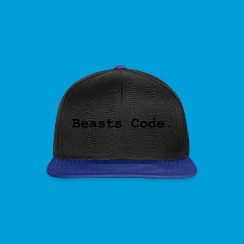 Beasts Code. - Snapback Cap