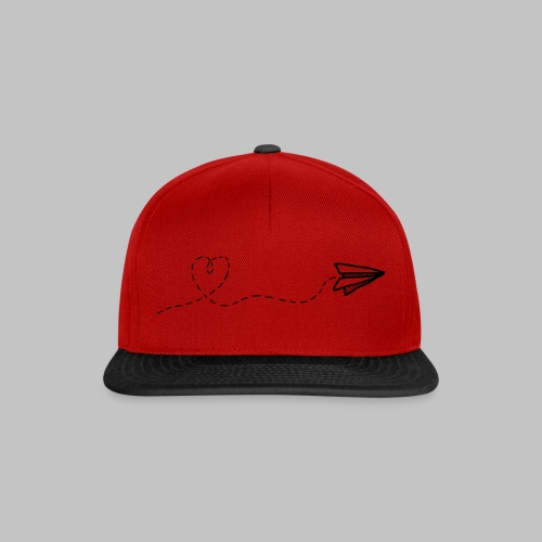 fly heart - Snapback Cap