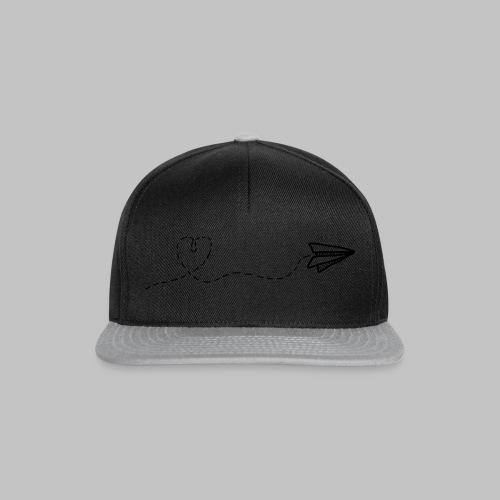 fly heart - Snapback Cap