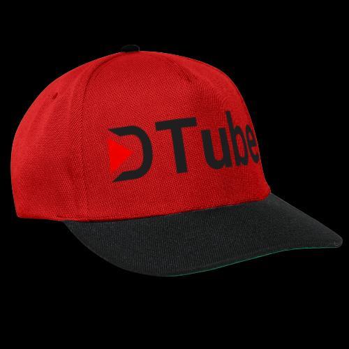 DTube logo - Snapback Cap