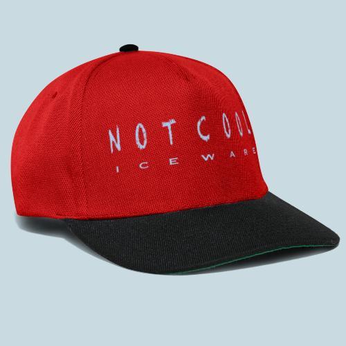 NOTCOOL ICEWARE - Snapback cap