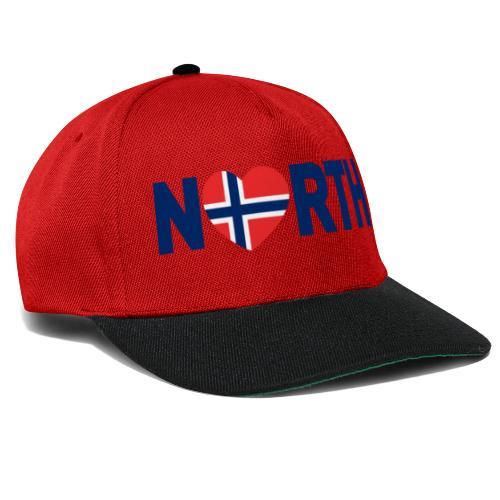 Nord-Norge på engelsk - plagget.no - Snapback-caps