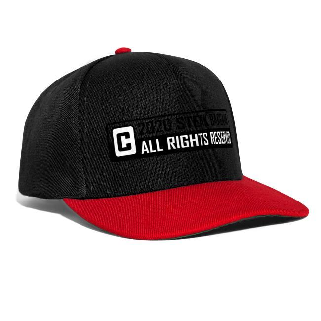 Copyright standaard zwart wit