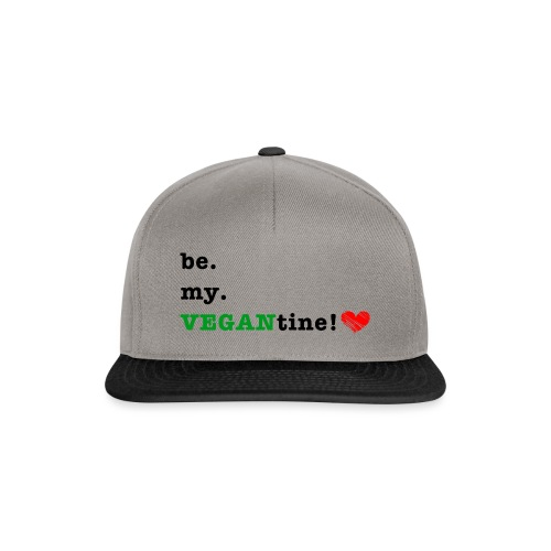 VEGANtine Green - Snapback Cap