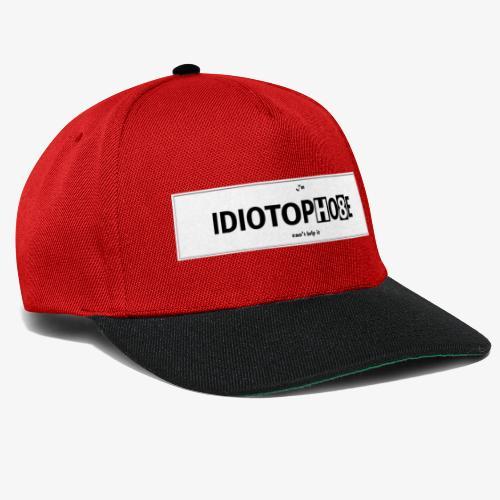 IDIOTOPHO8E - Snapback Cap