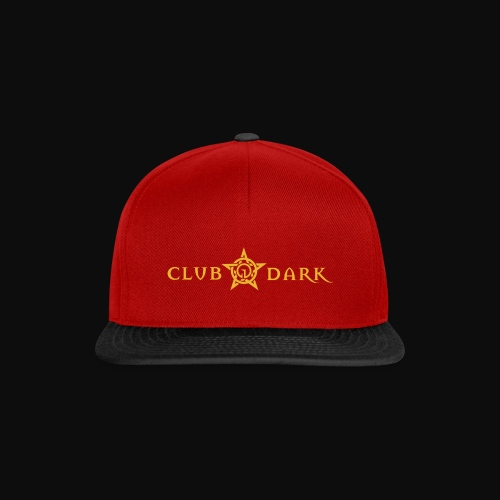 Club Dark Type - Snapback Cap
