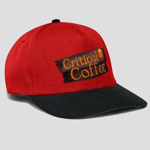 Critical Coffee D20 - Snapback Cap