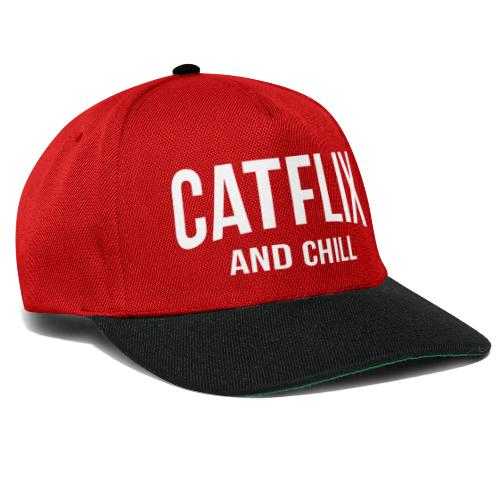 Catflix and Chill - Snapback Cap
